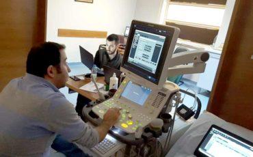 TOSHIBA Cihazı hareketli DICOM görüntü transferi tamamlandı