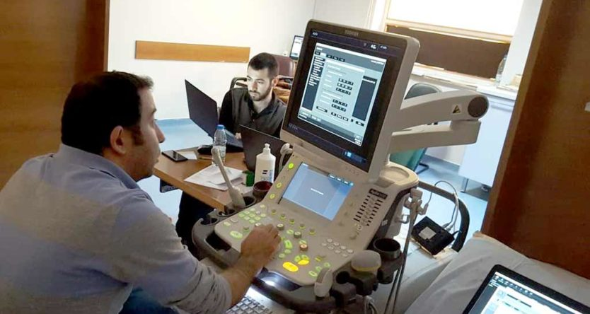 Toshiba Cihazı hareketli DICOM görüntü transferi tamamlandı.
